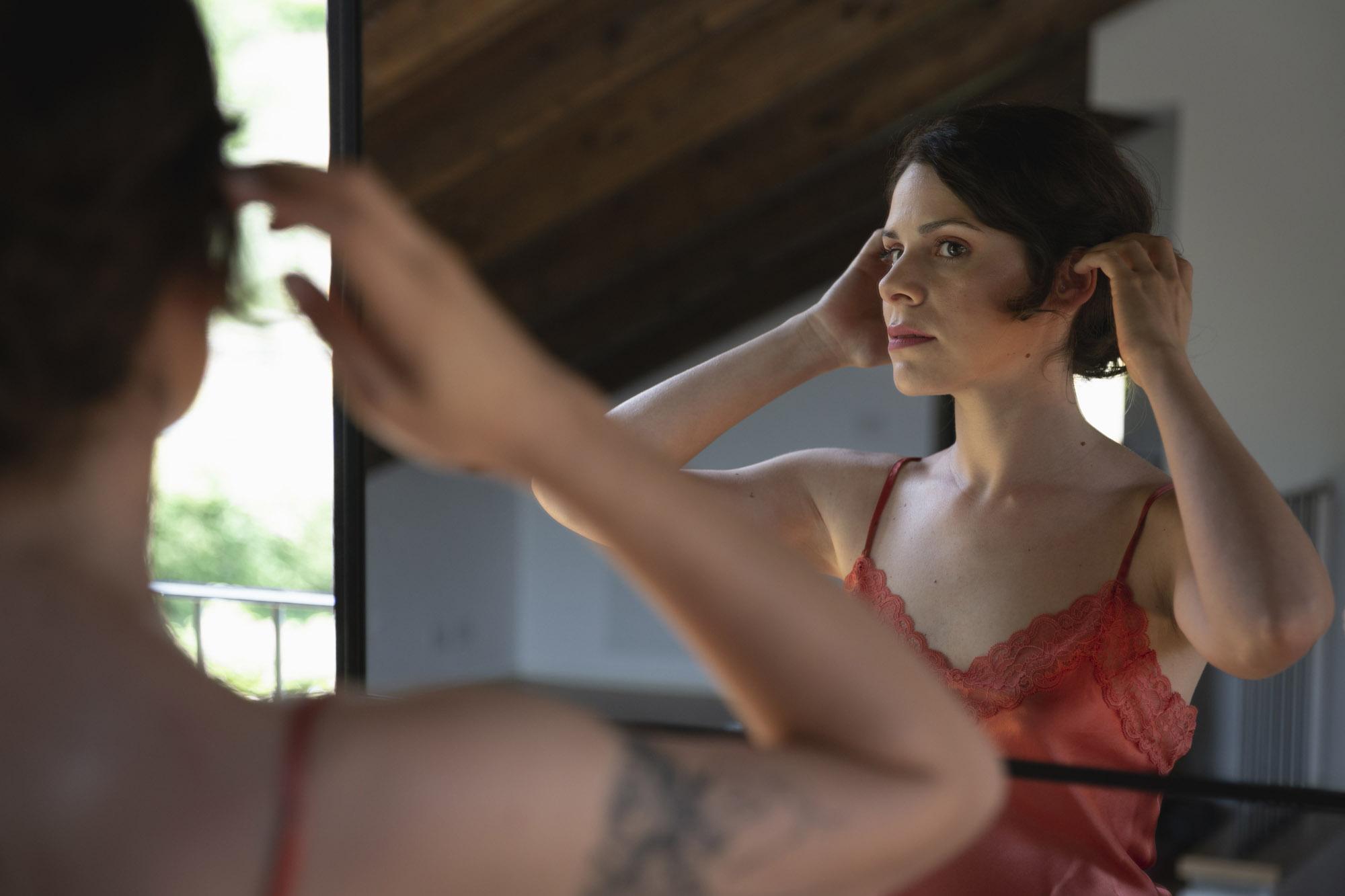 La sposa allo specchio