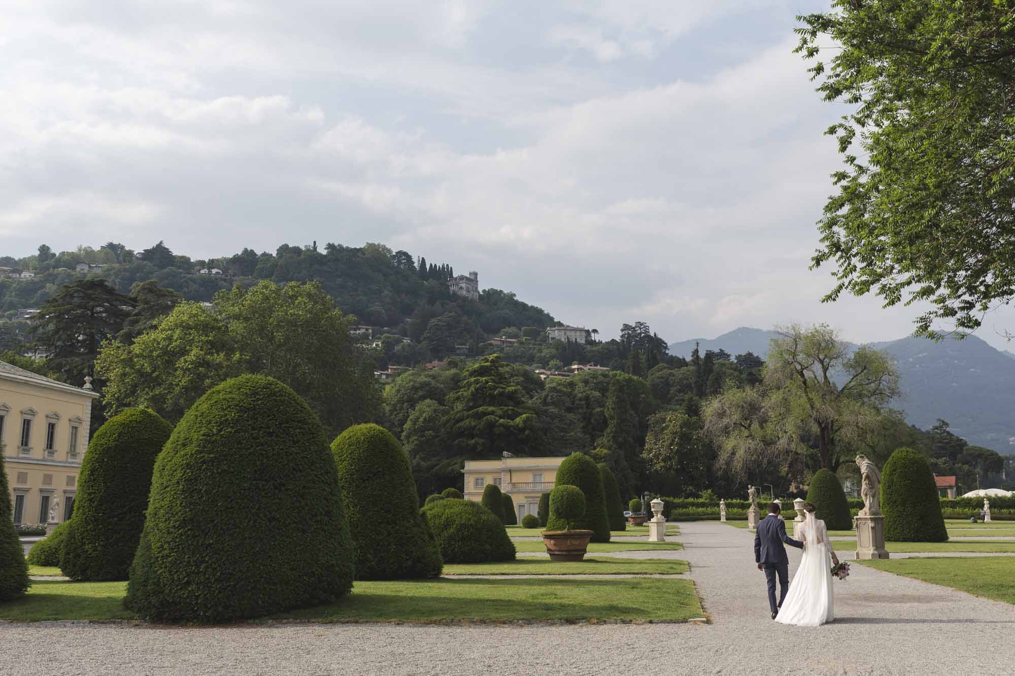 Passeggiata a Villa Olmo